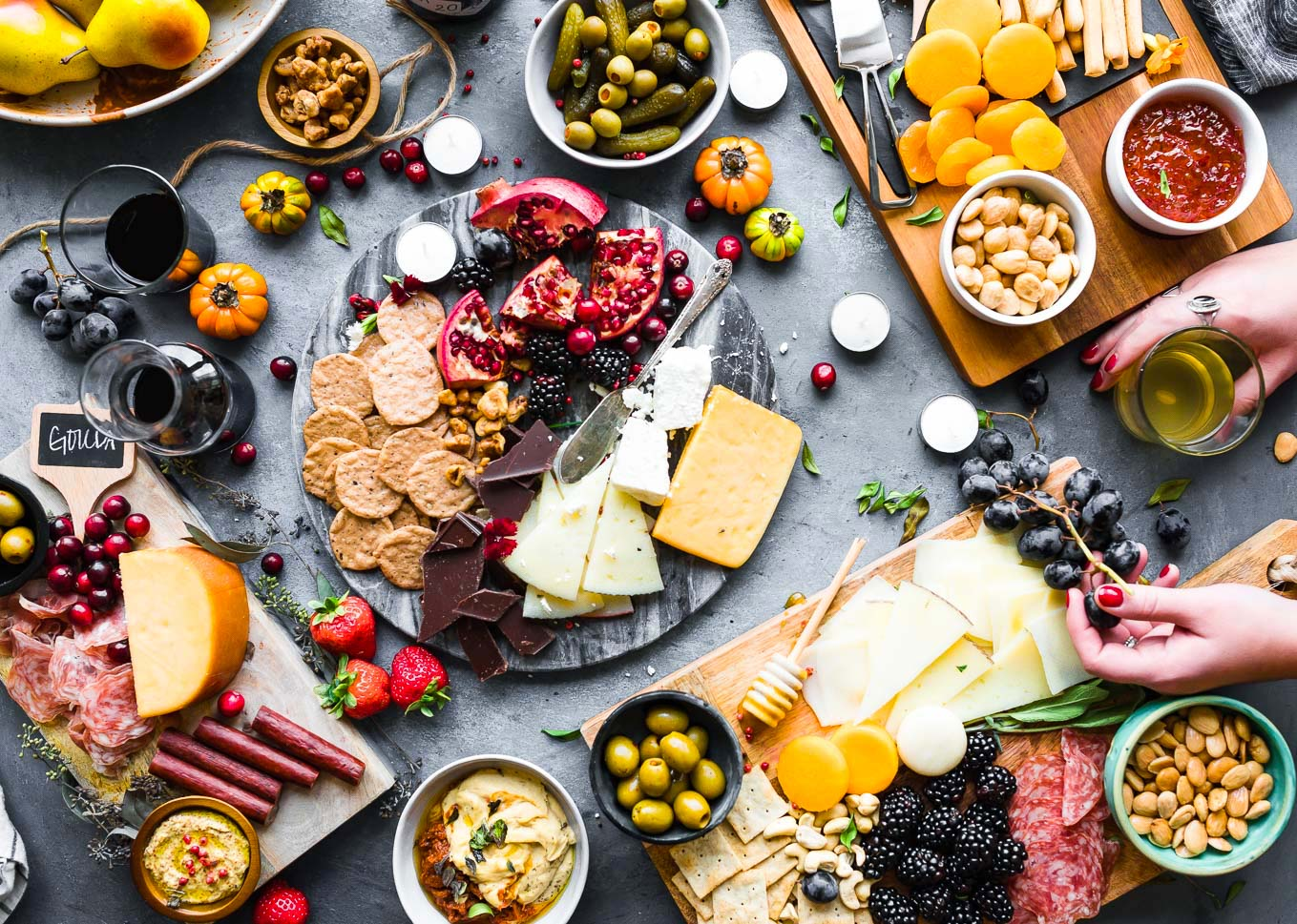 20 ý tưởng kết hợp thực phẩm và rượu vang