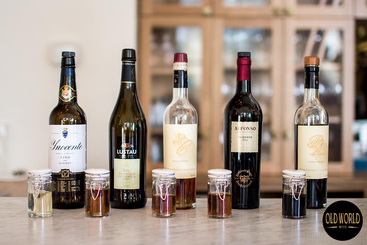 Các loại rượu Sherry