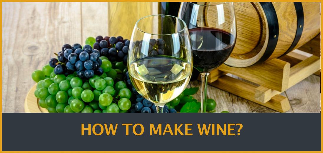 Cách làm rượu vang: Từ vườn nho đến bàn ăn