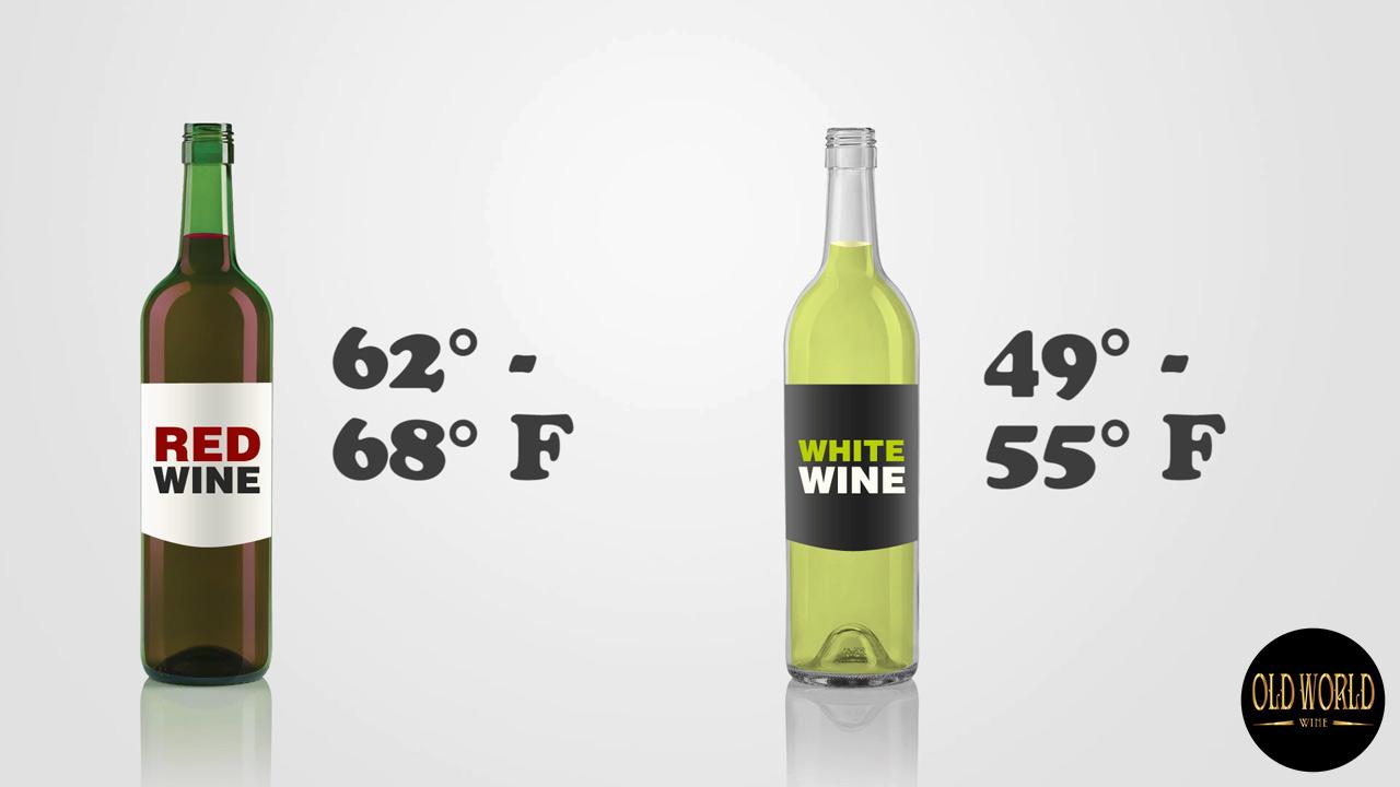 Nhiệt độ phục vụ lý tưởng cho rượu vang