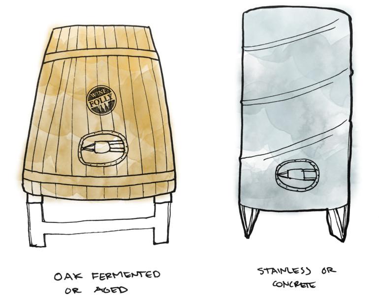 Sự khác biệt về phong cách của Sauvignon Blanc