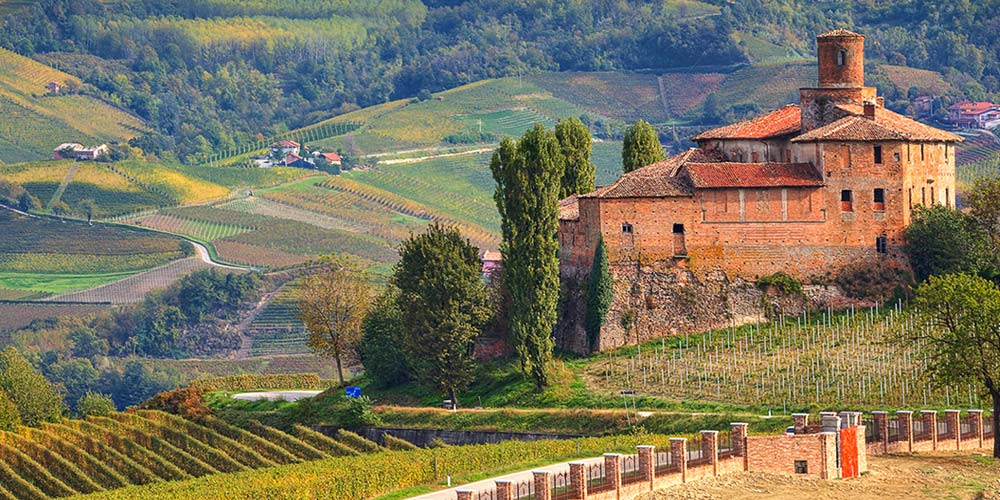 Vùng Piedmont - Italia