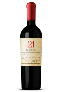 Rượu vang đỏ Chile 24 Gran Reserva Cabernet Sauvignon Carmenere