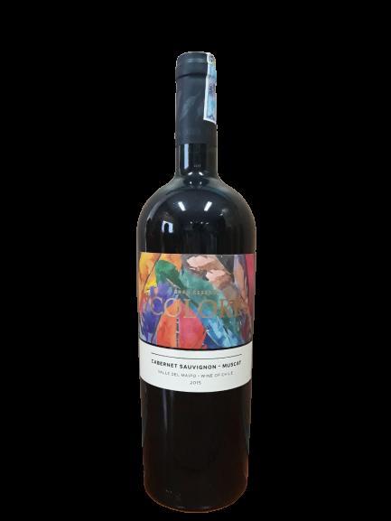 Rượu vang đỏ Chile - 7 Colores Cabernet Sauvignon - Muscat Gran Reserva 2015