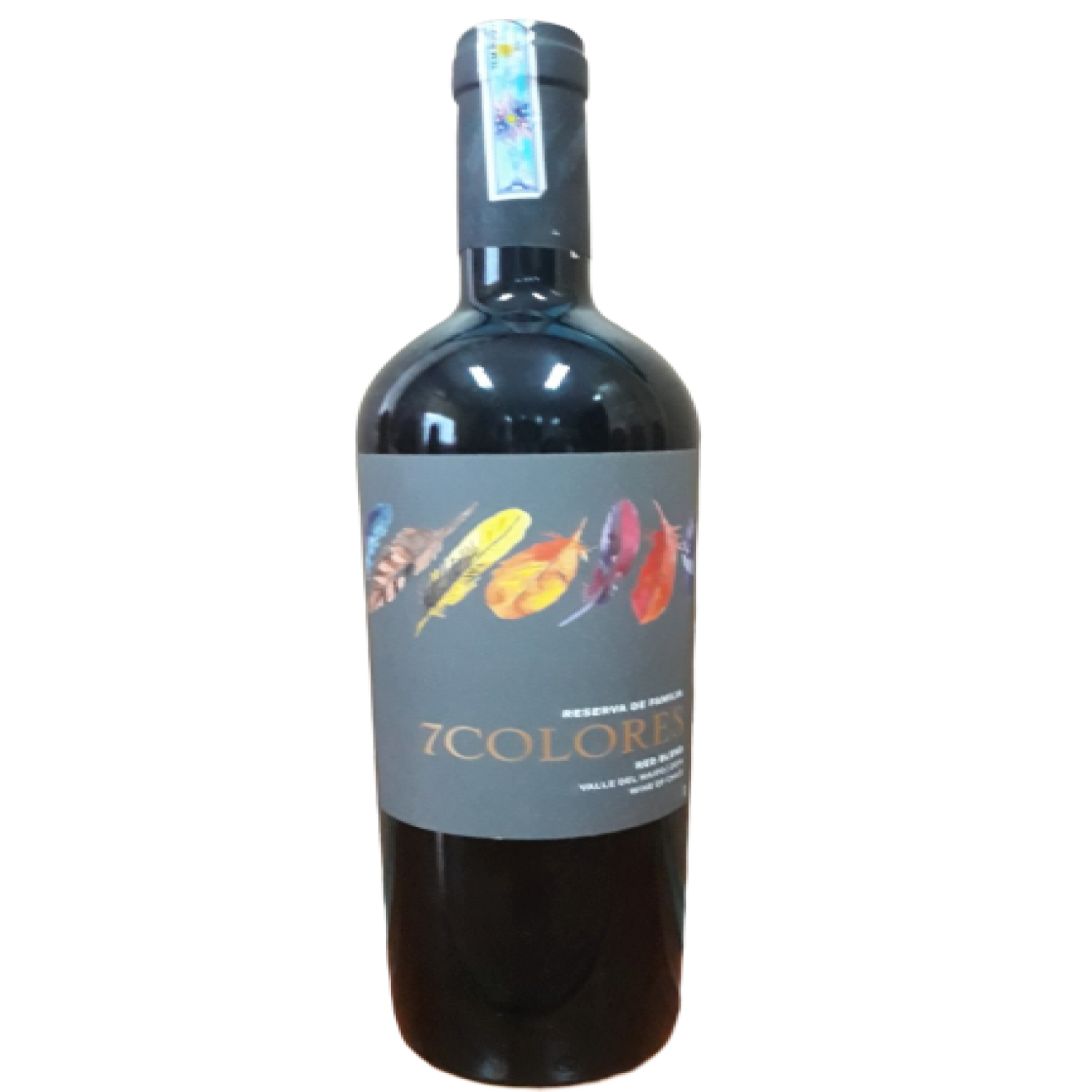Rượu vang đỏ Chile - 7 Colores Red Blend Reserva de Familia 2014