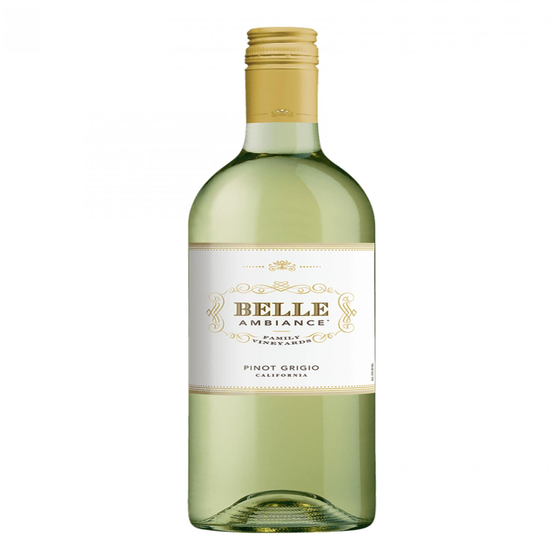 Rượu vang trắng Mỹ Belle Ambiance Pinot Grigio California