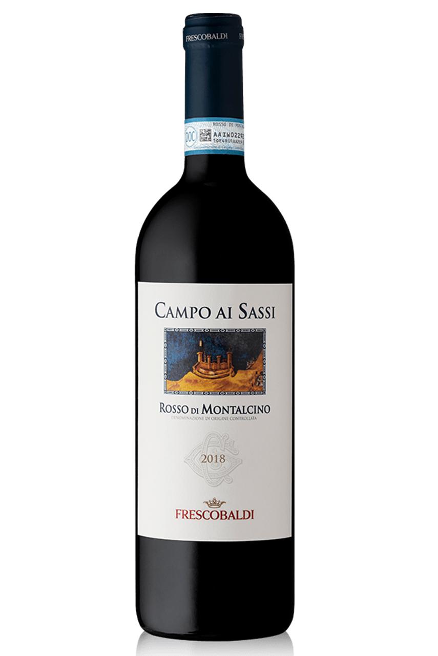 Rượu vang đỏ Ý CAMPO AI SASSI Rosso di Montalcino DOC
