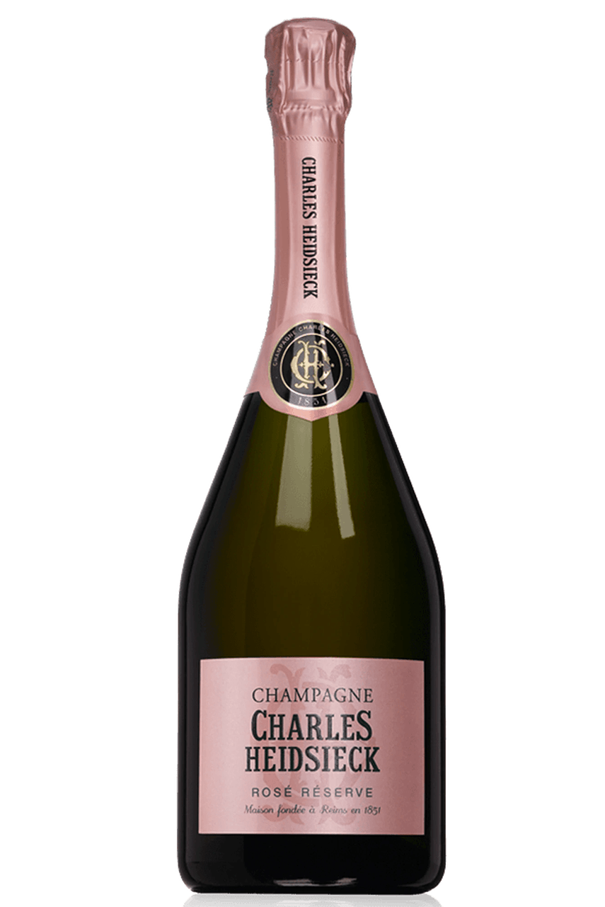 Rượu Champagne Charles Heidsieck Rosé Réserve