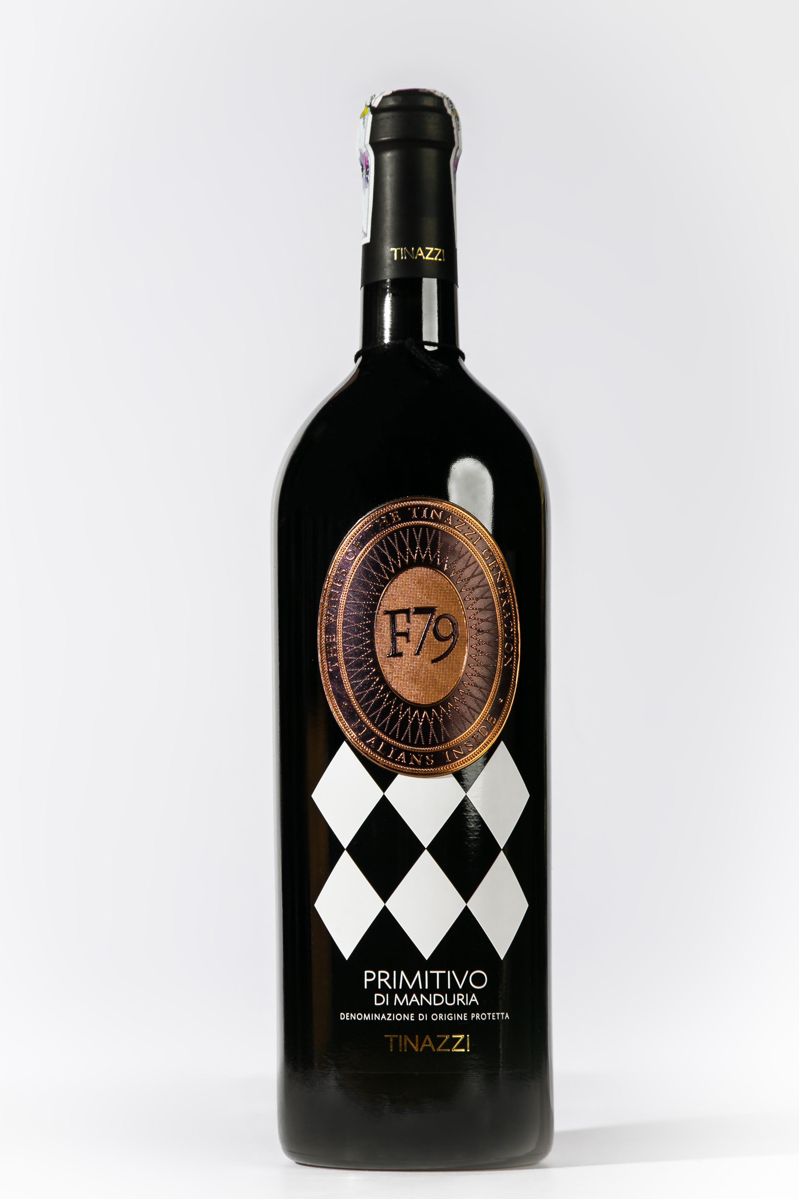 Siêu Phẩm rượu vang Ý - F79 Primitivo Di Manduria