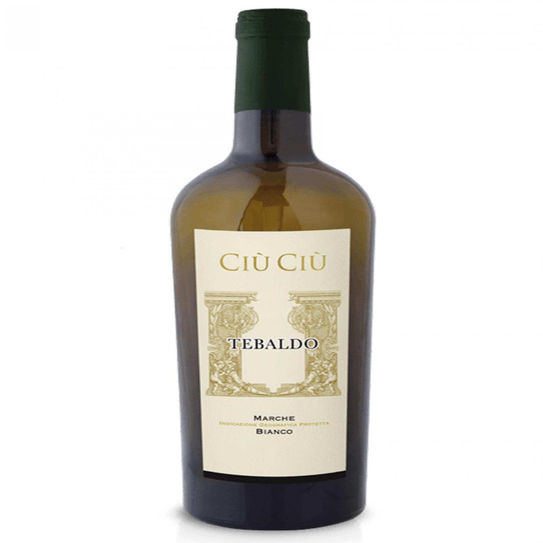 Rượu vang Ciù Ciù Tebaldo Marche I.G.P. Bianco