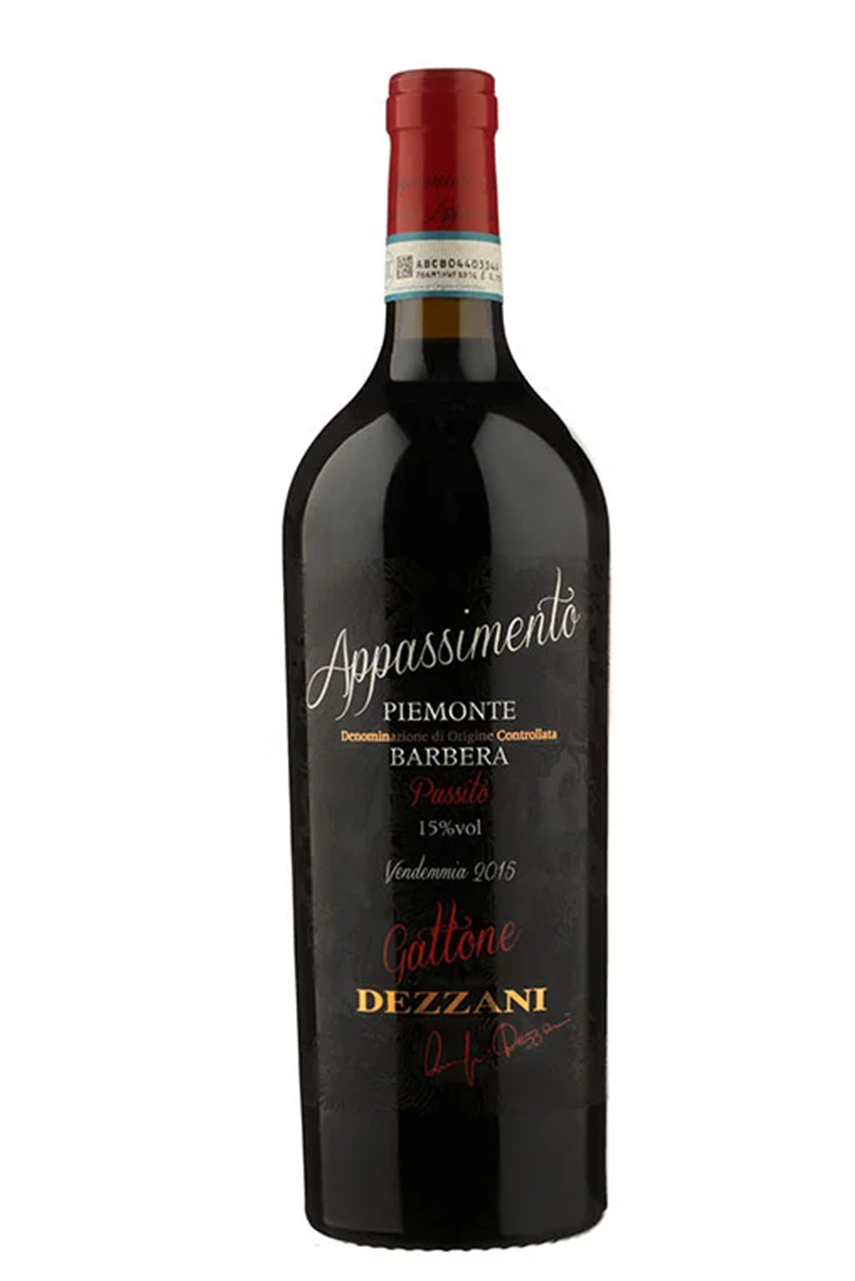 Rượu vang đỏ Ý Gattone Barbera Appassimento