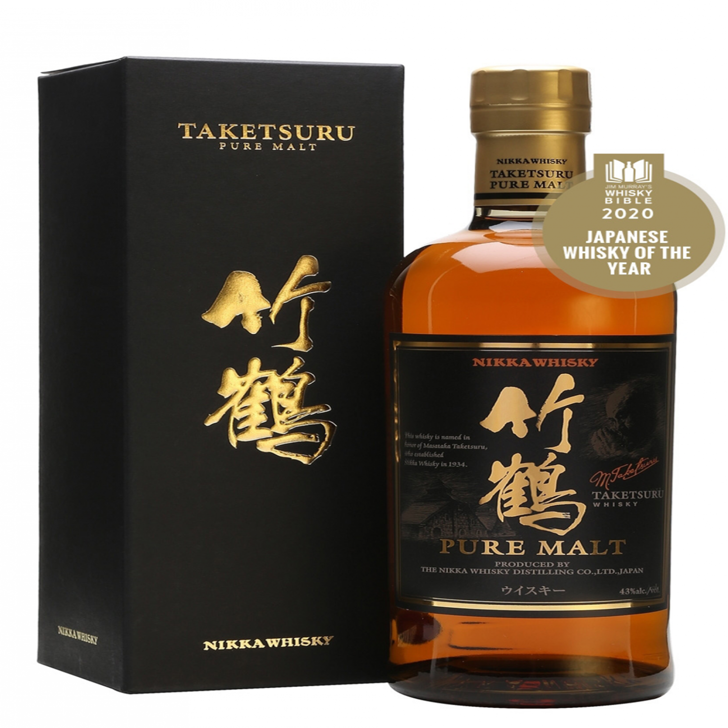 Rượu Nikka Taketsuru Pure Malt 43% 700ml