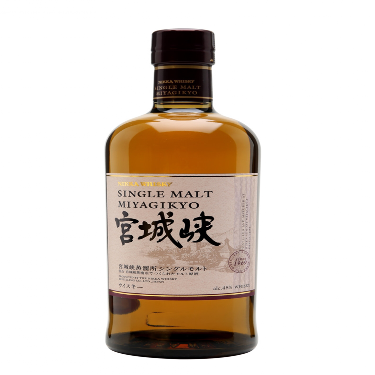 Rượu Nikka Miyagikyo Single Malt 45% 700ml