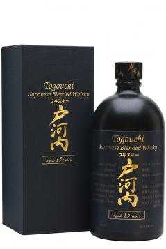Rượu Togouchi Whisky 15 năm 43,8% 700ml