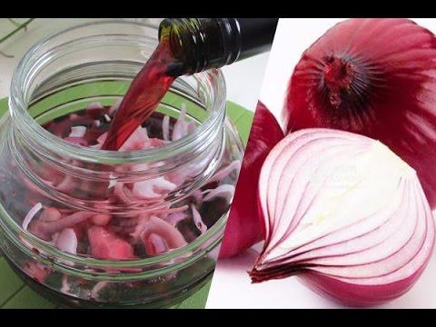 Tác dụng tuyệt vời của hành tây ngâm trong rượu vang đỏ