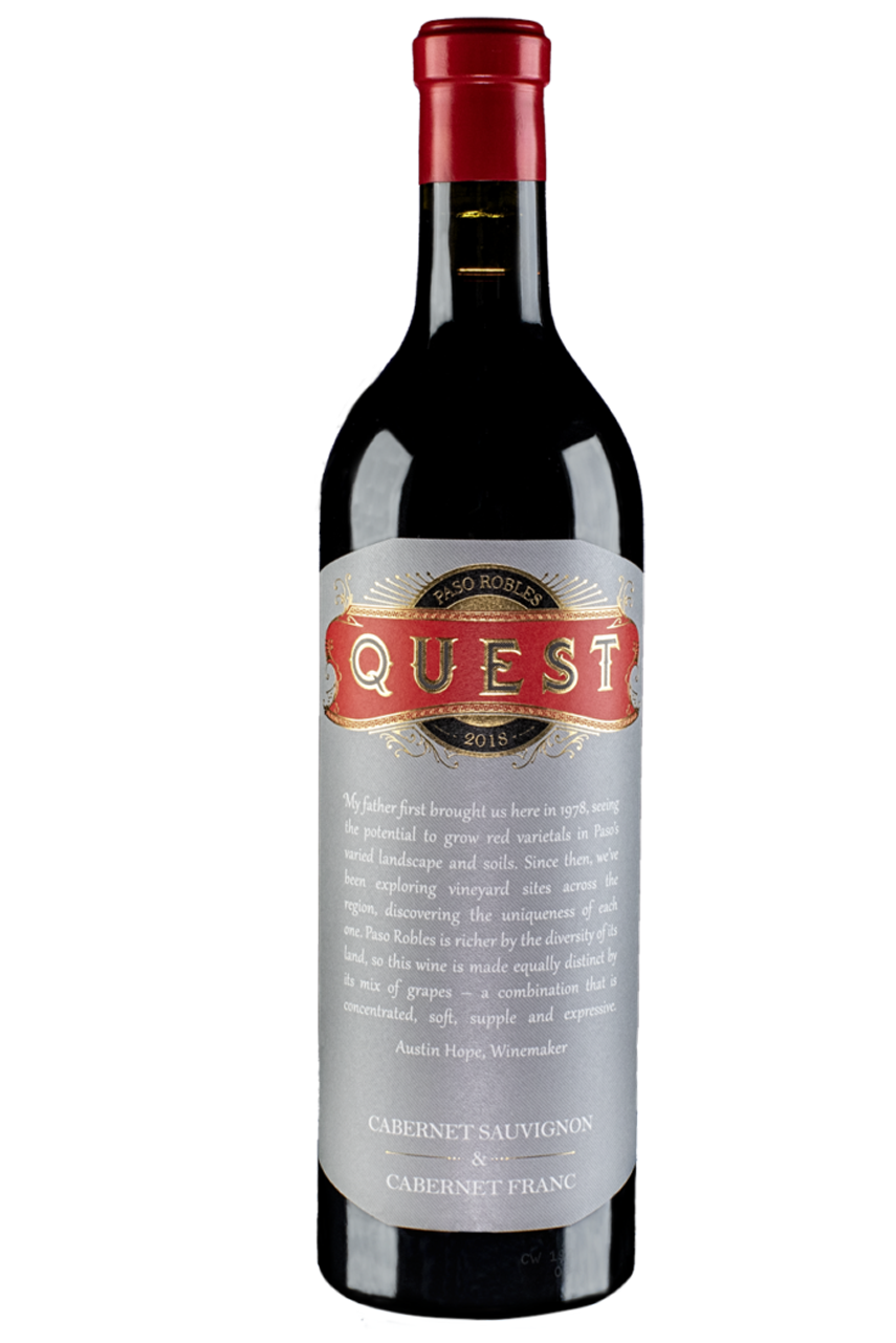 Rượu vang Mỹ Quest Paso Robles Austin Hope