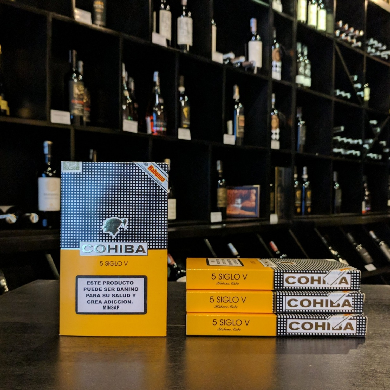 Xì gà Cuba Siglo V hộp 5 điếu